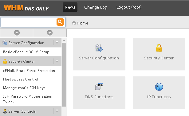 Cara Install cPanel DNSONLY