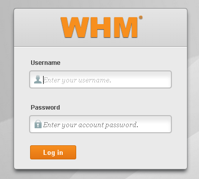 cPanel/WHM IP MISSING